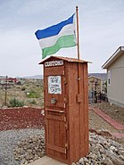 Molossia - Customs post