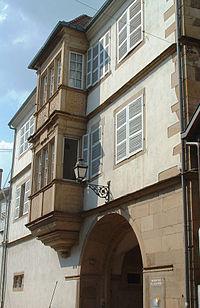 Molsheim - Maison de chanoines - 16 rue Jenner.JPG