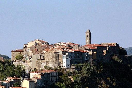 Montegiovi, centro storico