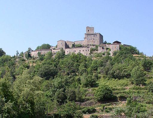 château De montreal en Ardêche