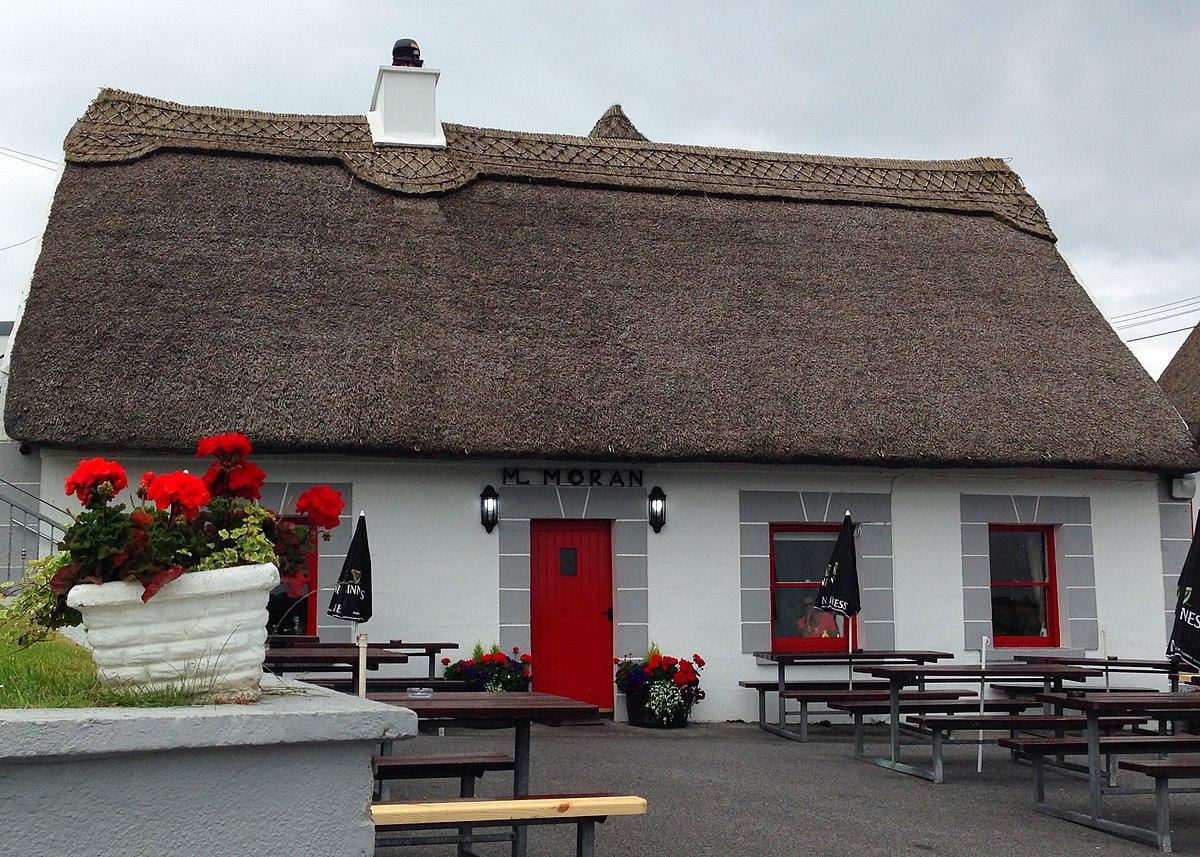 Galway City Restaurant With Waterwheel