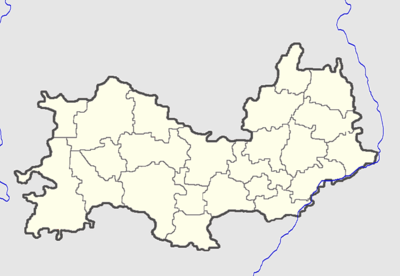 Location map Mordovia