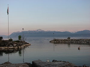 Morges - Morges harbor