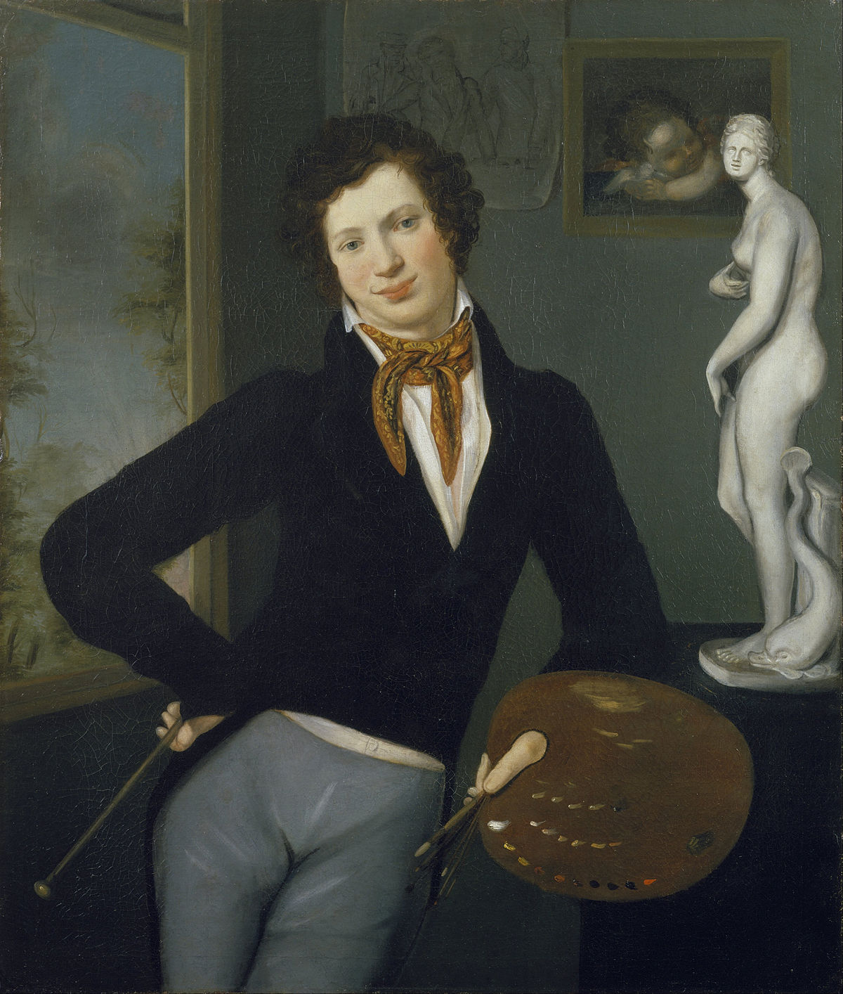 Oil paintings of people