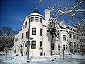 Moroccan embassy - Blizzard of 2010.JPG