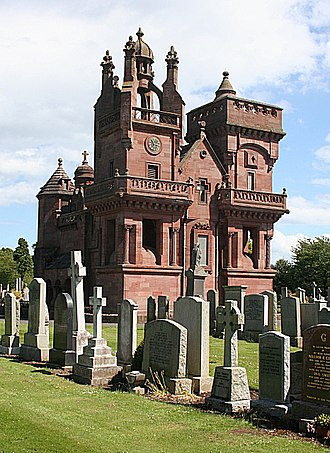 Patrick Allan Fraser - The Fraser Mortuary Chapel in Arbroath that he built for his wife