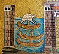 Mosaic of Classe, ancient port of Ravenna (Basilica of Sant'Apollinare Nuovo).jpg
