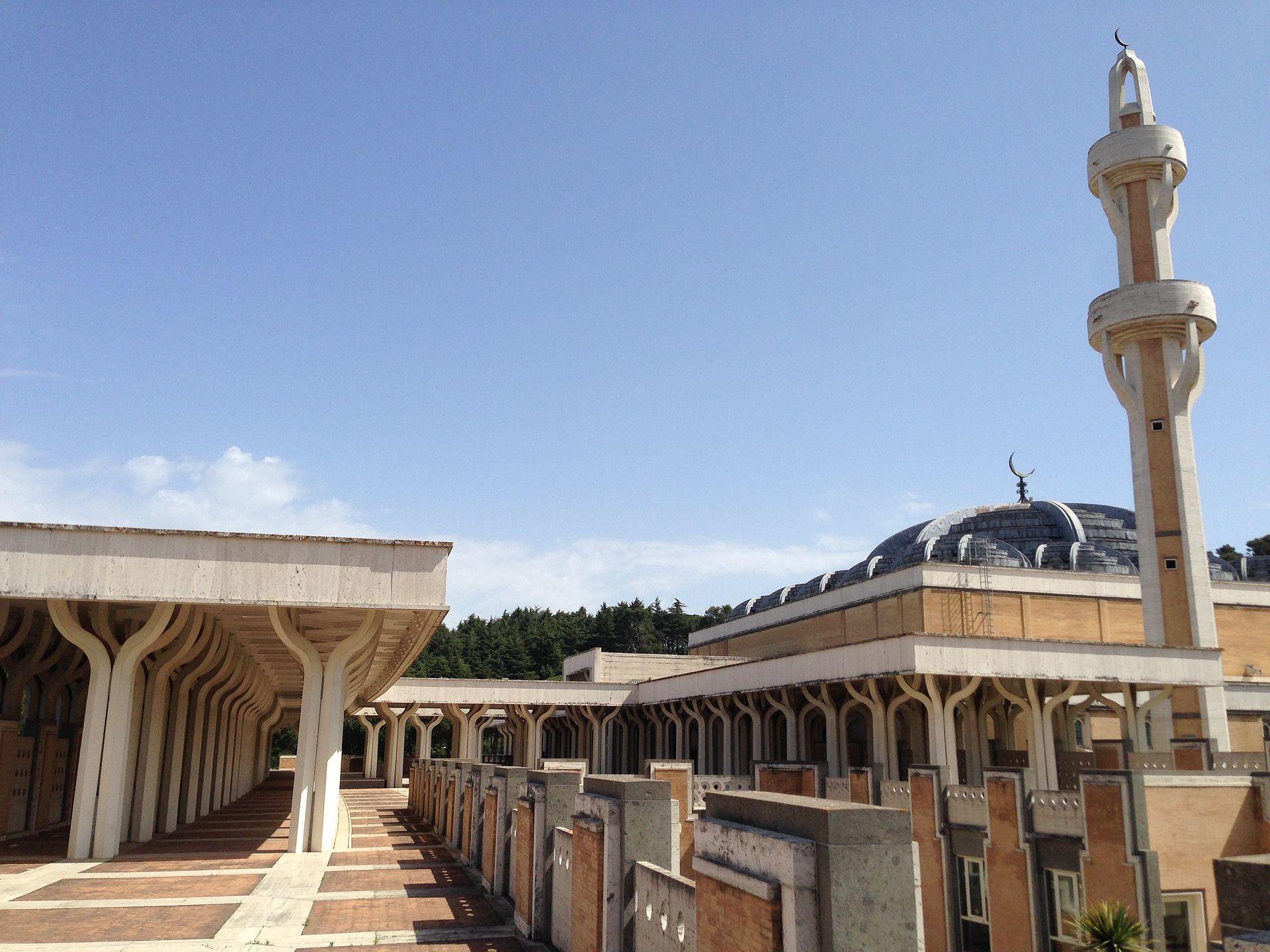 Moschea di roma wikipedia for Affitto roma porta di roma