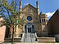Most Worshipful Hiram Grand Lodge-Former Sharon Israel Synagogue, 2105-2107 McCulloh Street, Baltimore, MD 21217 (36966670261).jpg