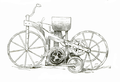 Motorcycle of 1885 - Popular Mechanics November 1910 p687.png