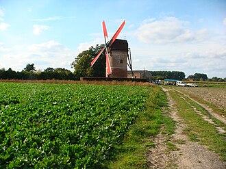 Templeuve-en-Pévèle - Windmill of Vertain