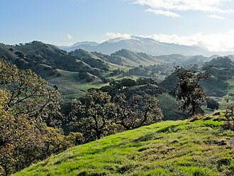 Contra Costa County, California - Mount Diablo from the Shell Ridge Open Space
