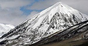 Gothic Mountain - Image: Mount Gothic