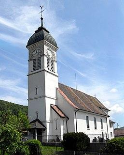 Movelier Municipality in Switzerland in Jura
