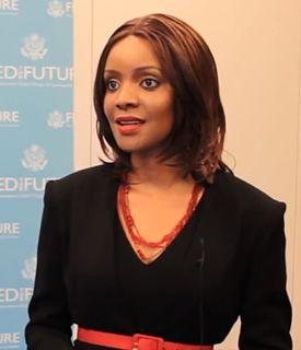 Mpule Kwelagobe Botswana model