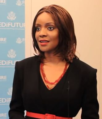 Mpule Kwelagobe - Mpule Kwelagobe in 2013 discussing her MPULE Institute for Endogenous Development addressing HIV/AIDS, food security and the feminization of poverty in Africa.