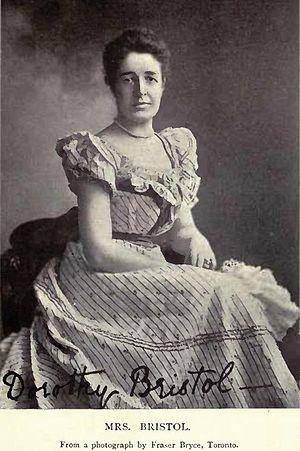 Edmund James Bristol - Mrs Dorothy Bristol née Armour