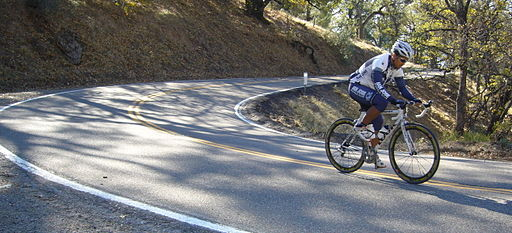Mt hamilton road cyclist