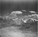 Muir Inlet and Muir Glacier, iceberg filled inlet and tidewater glacier terminus in the background, August 31, 1977 (GLACIERS 5727).jpg