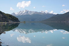 Muncho Lake, BC, Canada June2010.jpg