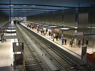 Munich U-Bahn - Olympia-Einkaufszentrum