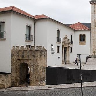 Machado de Castro National Museum - Image: Museu Machado de Castro porta da cerca medieval entrada do museu IMG 0071