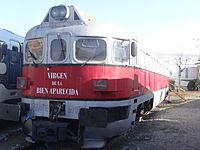 Museu del Ferrocarril (Vilanova i la Geltrú) - A05 Renfe - Virgen de la Bien Aparecida.JPG