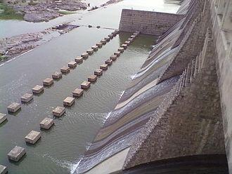 Musi River (India) - Musi reservoir near Suryapet.