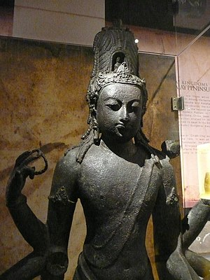 National Museum (Malaysia) - Avalokitesvara found at Bidor, 8th-9th century CE