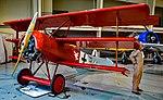 N900TP Fokker Dr.I Triplane C N 001TP (2003 Replica) Boom Powell Aeroplane Pilot Military Aviation Museum (30322678768).jpg