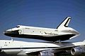 N905NA 2 B747-123 - Space Shuttle NASA STN 15JUN83 (6505932313).jpg