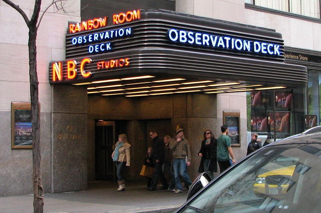 Nbc Building New York Restaurant