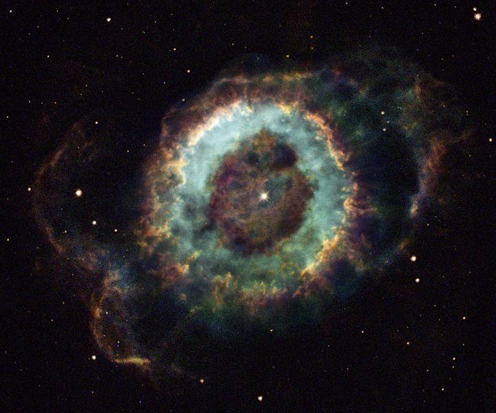 Nebula Hantu Kecil adalah sebuah nebula planeter di Konstelasi Ophiuchus.
