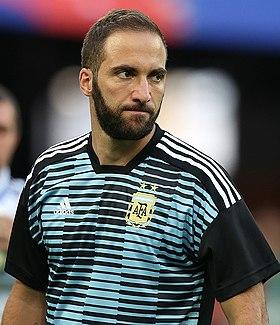 Maillot Extérieur AC Milan GONZALO HIGUAIN
