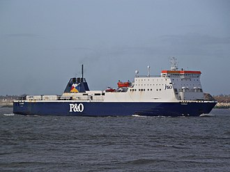 MS Norbay - Arriving in on the Mersey, Liverpool
