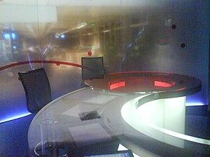 NRK News - One of two NRK Dagsrevyen news studios, located in Oslo