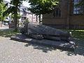 NRW, Kleve - Kleiner Markt (Toter Krieger).jpg