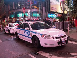English: Chevrolet Impala of the NYPD