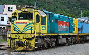 Corn-Cob (livery) - DXC 5356 in Picton, along with DX 5483 (in the Cato Blue livery).