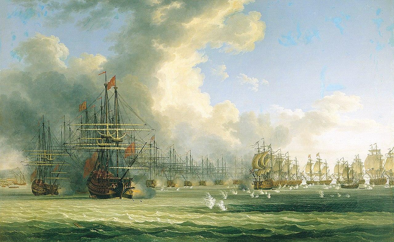 Nachalo boya v hiosskom prolive 24go iyunya 1770go goda.jpg