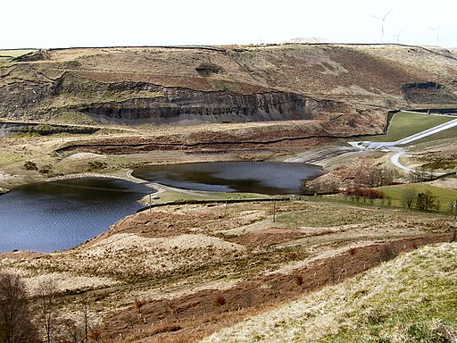 Naden Lower Reservoir - geograph.org.uk - 1760788