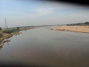 Nagavali River - Nagavali river near Srikakulam.