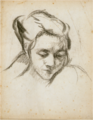 NakamuraTsune-1921-Portrait of A Woman.png