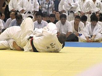 Kosen judo - Competitors at the Nanatei league in 2010.