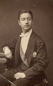Napoleon Eugene, Prince Imperial, to whom Beatrice was romantically attached in the 1870s
