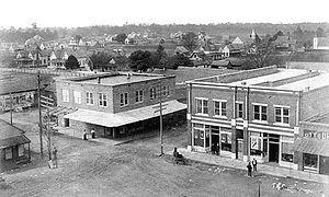 Nashville, Georgia - Nashville Square, circa 1905