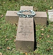 Nathan Loughborough grave - Rock Creek section - Oak Hill Cemetery - 2013-09-04.jpg
