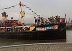 Nationale Intocht Sinterklaas in Maassluis, de Pakjesboot IMG 4628 2016-11-12 11.48.jpg