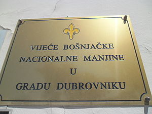 Bosniaks of Croatia - Bosniak National Minority Council in Dubrovnik
