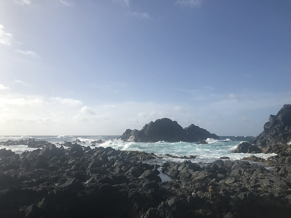 Natural Pool in Aruba-July 4, 2018